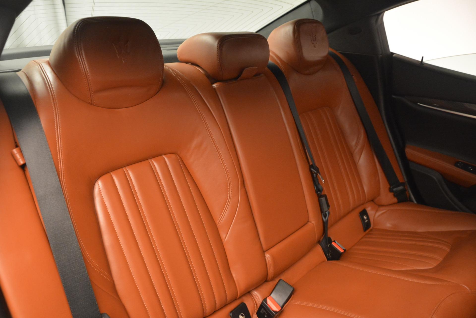 Used 2014 Maserati Ghibli S Q4 For Sale In Greenwich, CT 805_p25