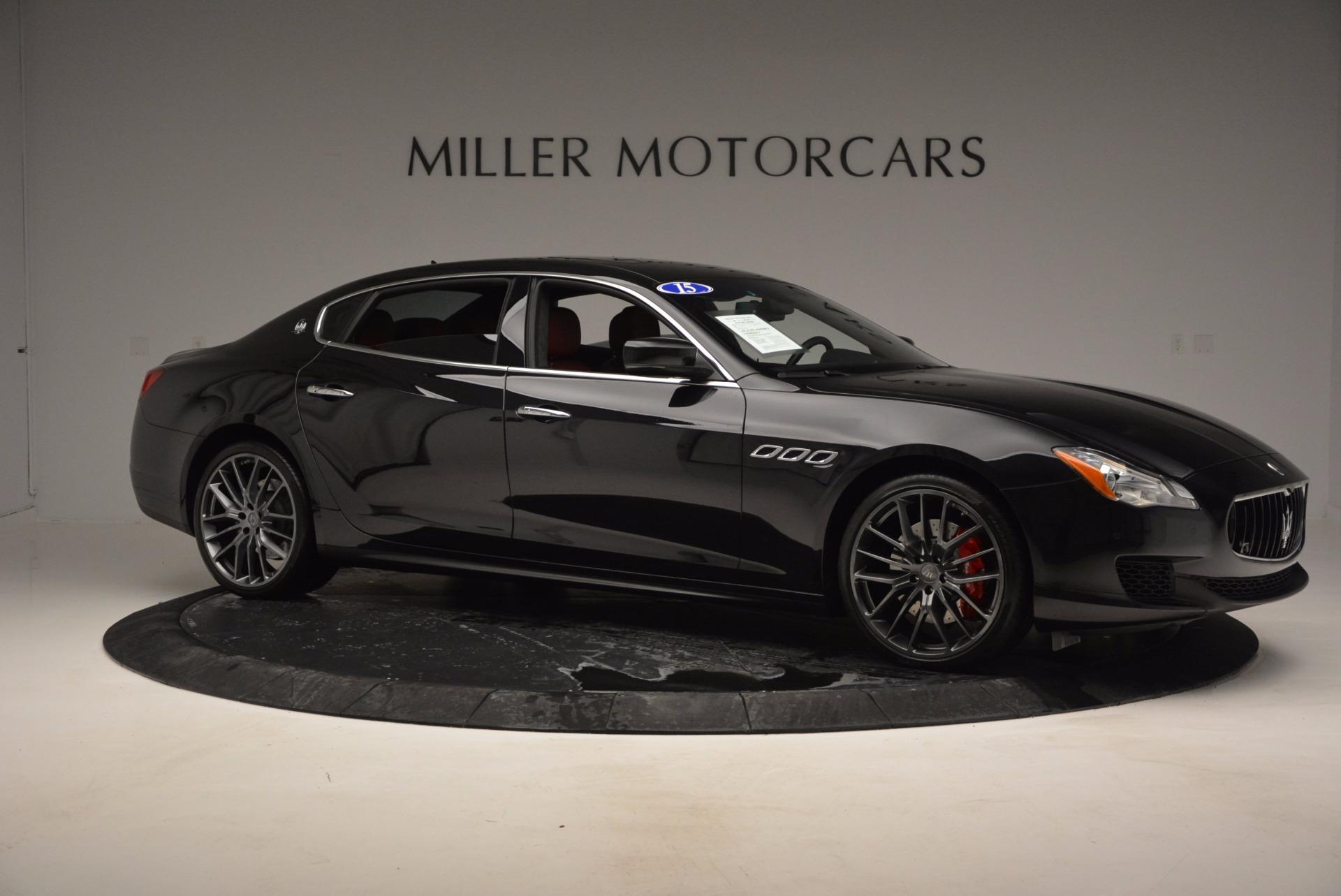 Used 2015 Maserati Quattroporte S Q4 For Sale In Greenwich, CT 809_p10
