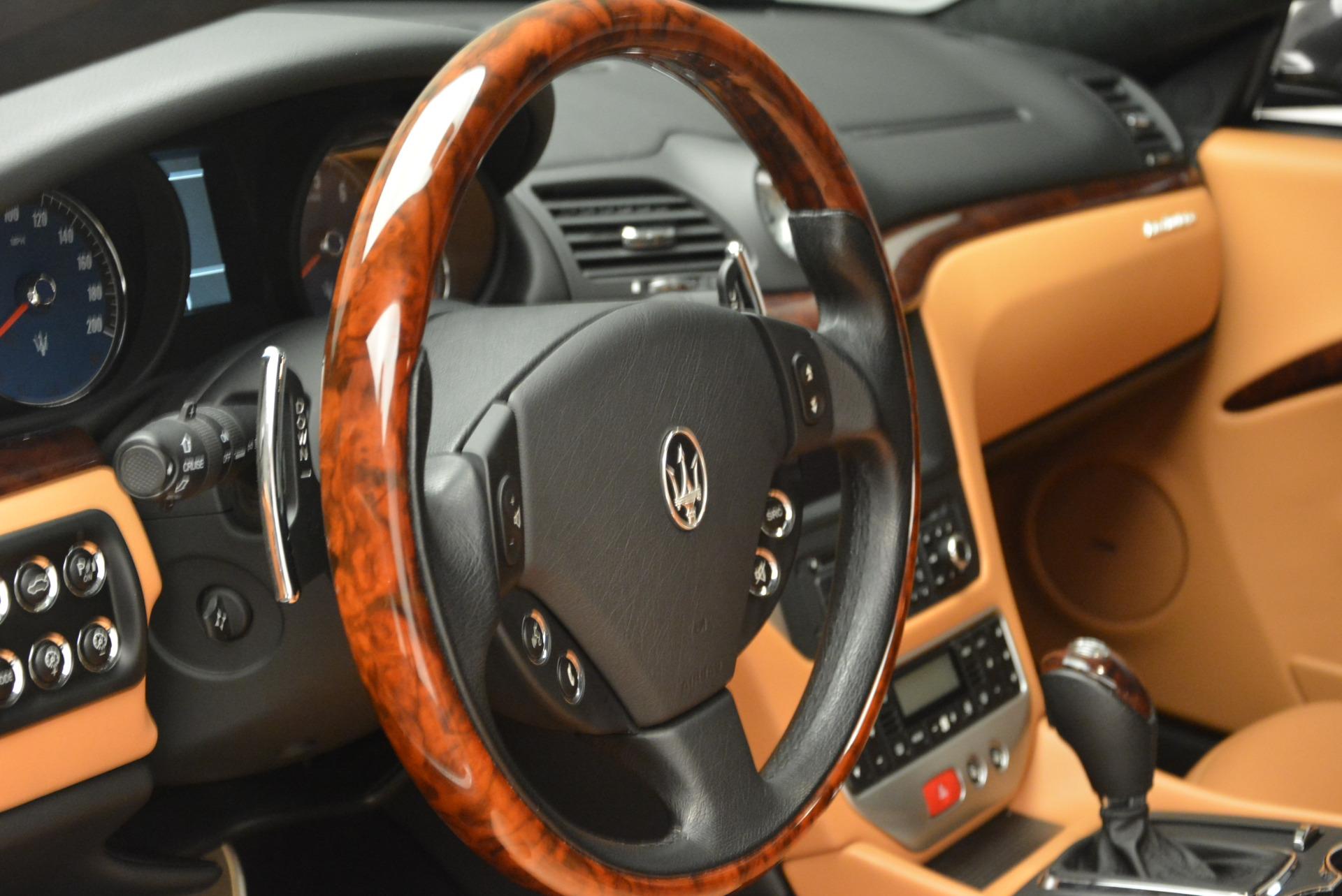 Used 2011 Maserati GranTurismo  For Sale In Greenwich, CT 816_p16