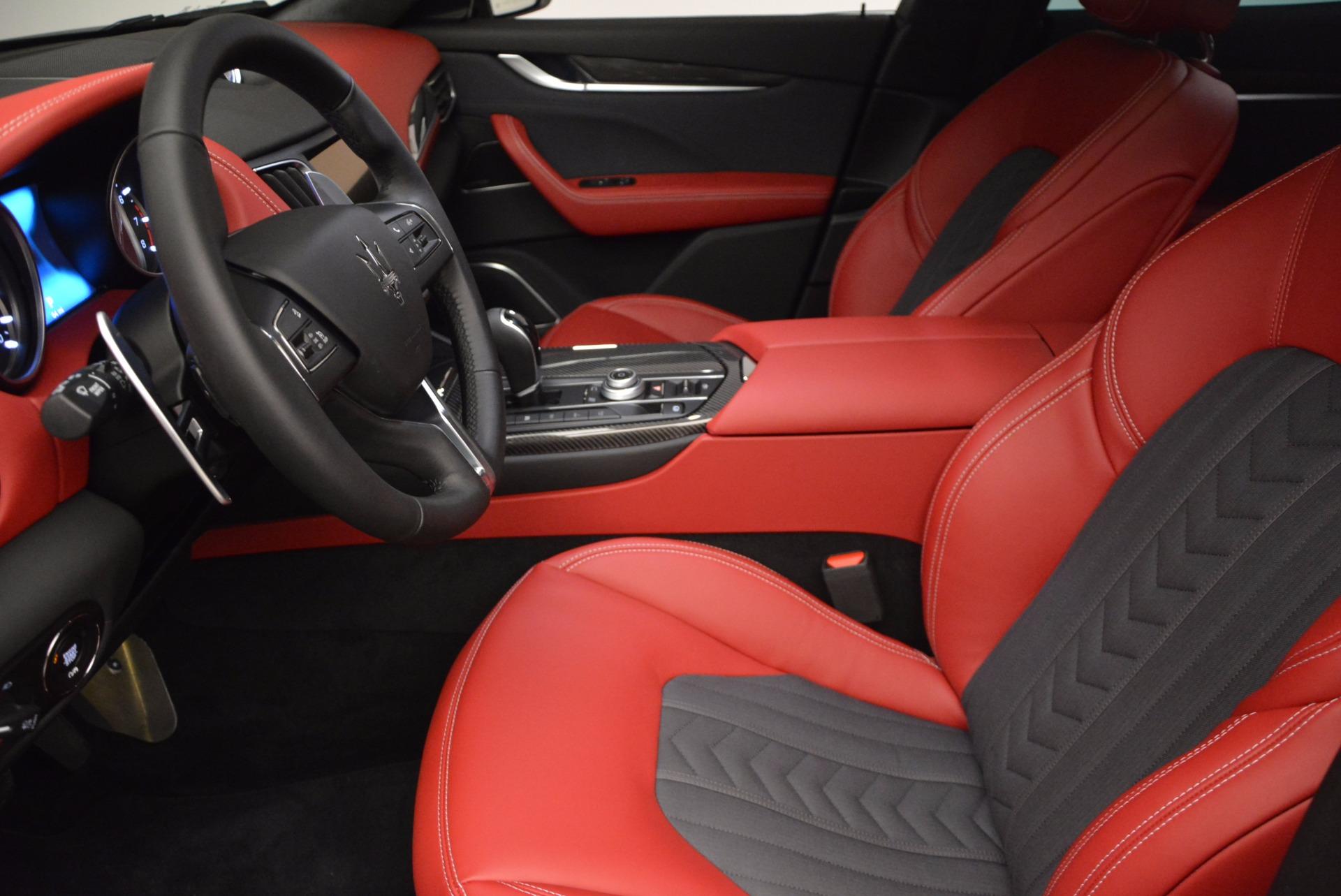 New 2017 Maserati Levante S Zegna Edition For Sale In Greenwich, CT 840_p14