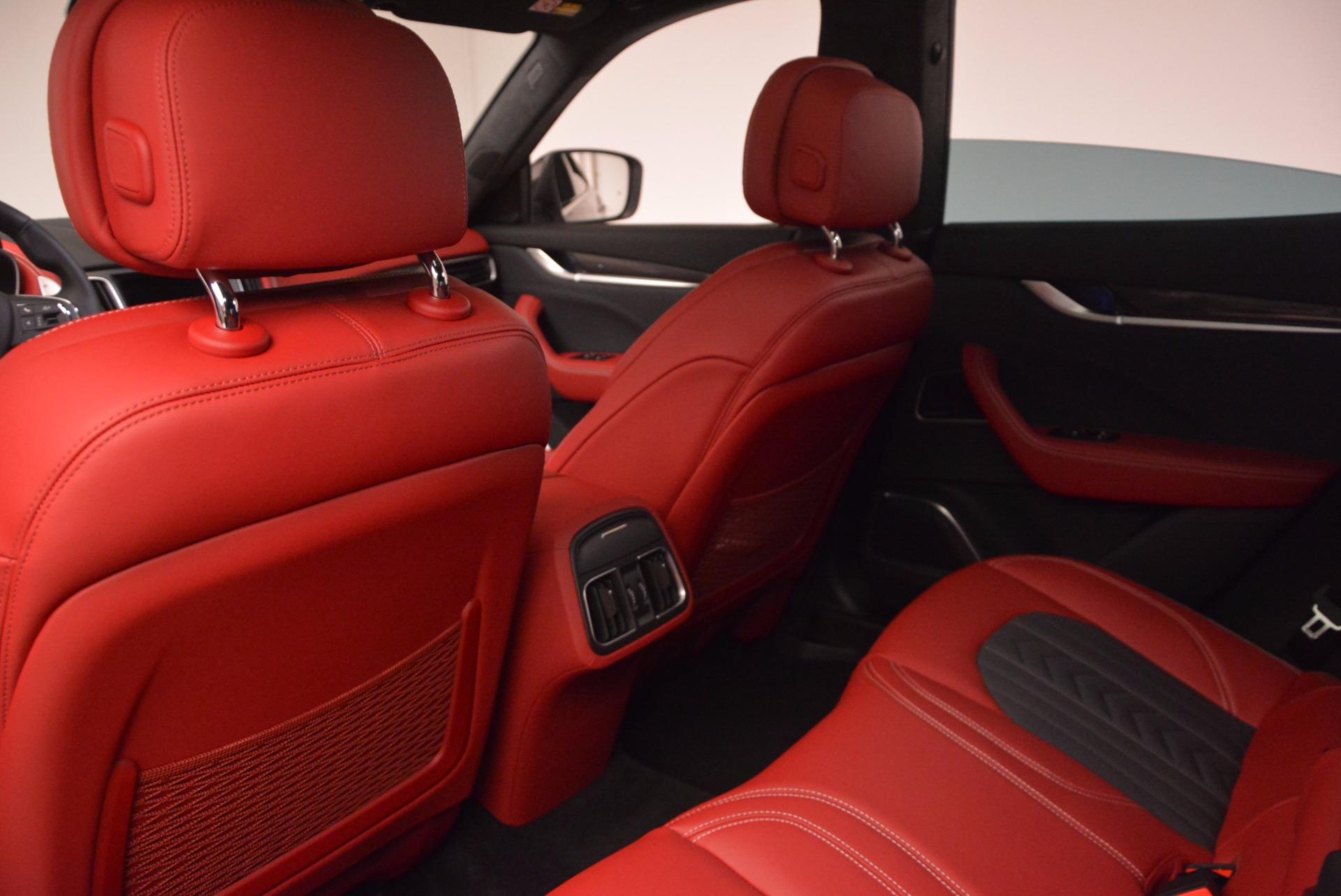 New 2017 Maserati Levante S Zegna Edition For Sale In Greenwich, CT 840_p21