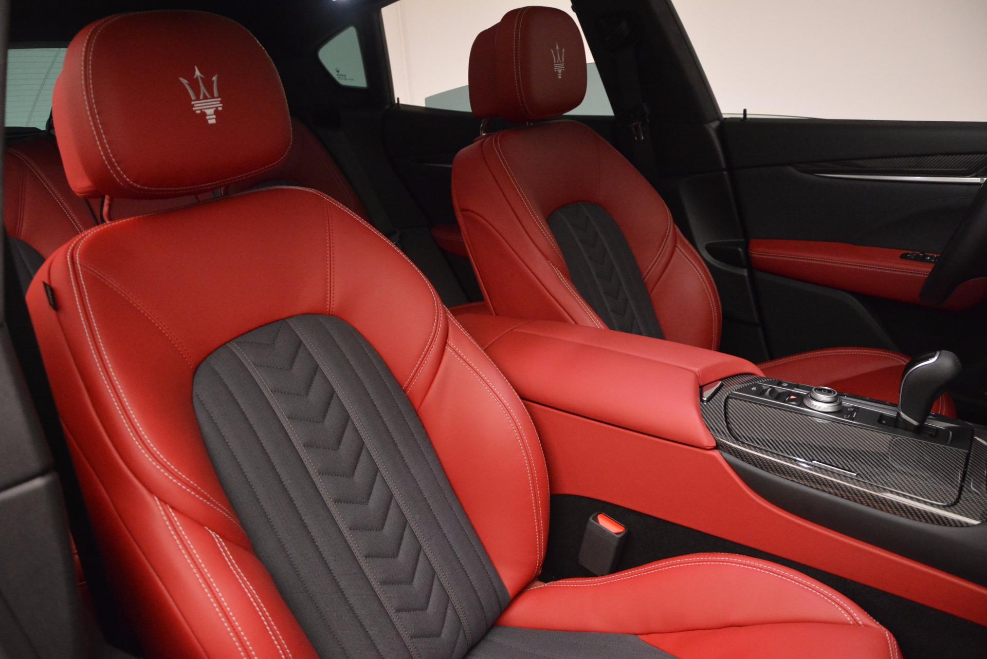New 2017 Maserati Levante S Zegna Edition For Sale In Greenwich, CT 840_p25