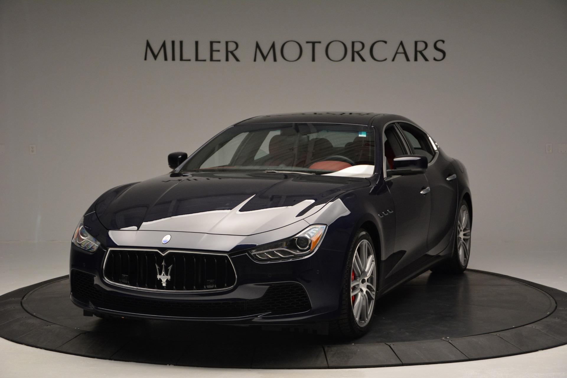 New 2017 Maserati Ghibli S Q4 For Sale In Greenwich, CT 849_main