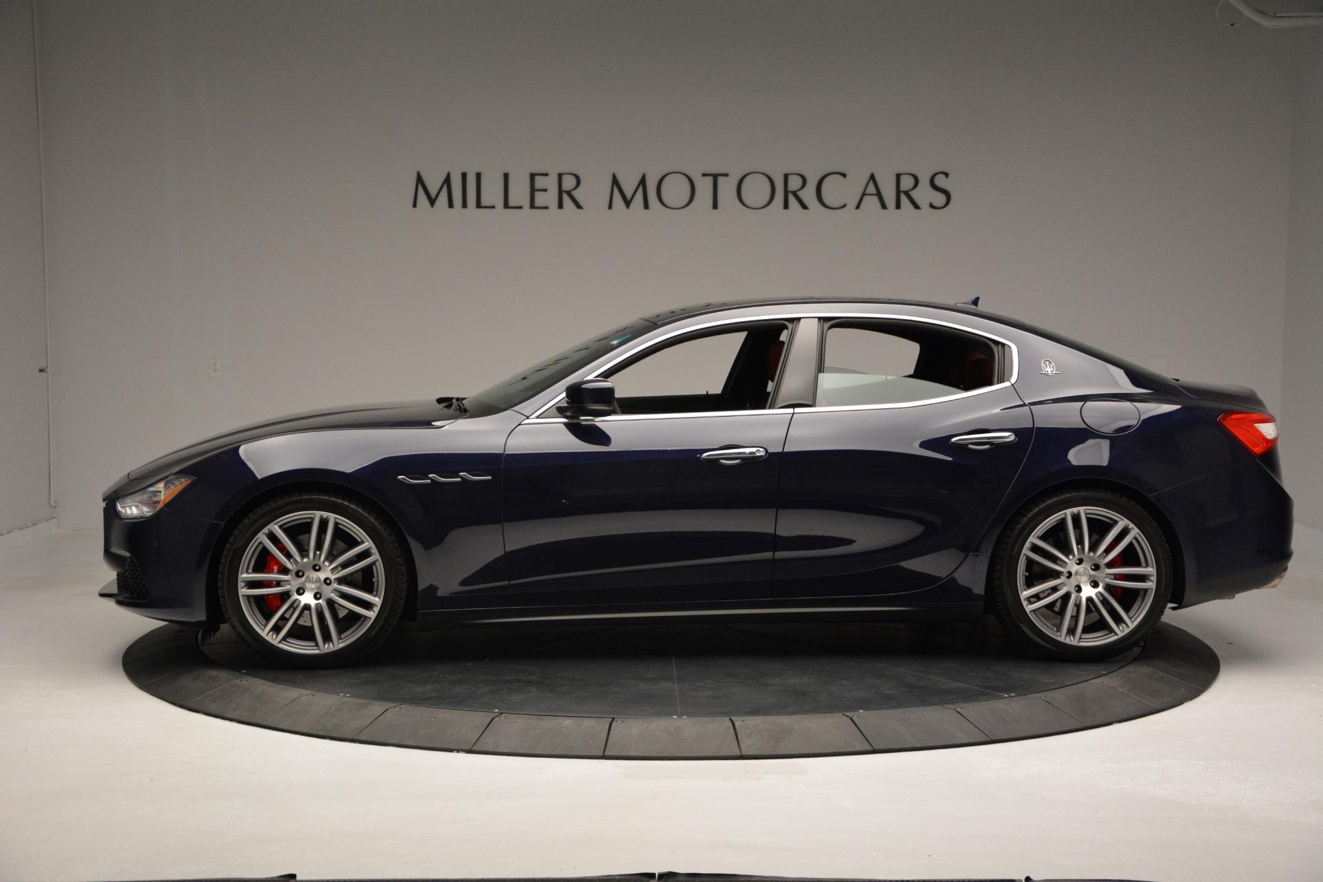 New 2017 Maserati Ghibli S Q4 For Sale In Greenwich, CT 849_p3