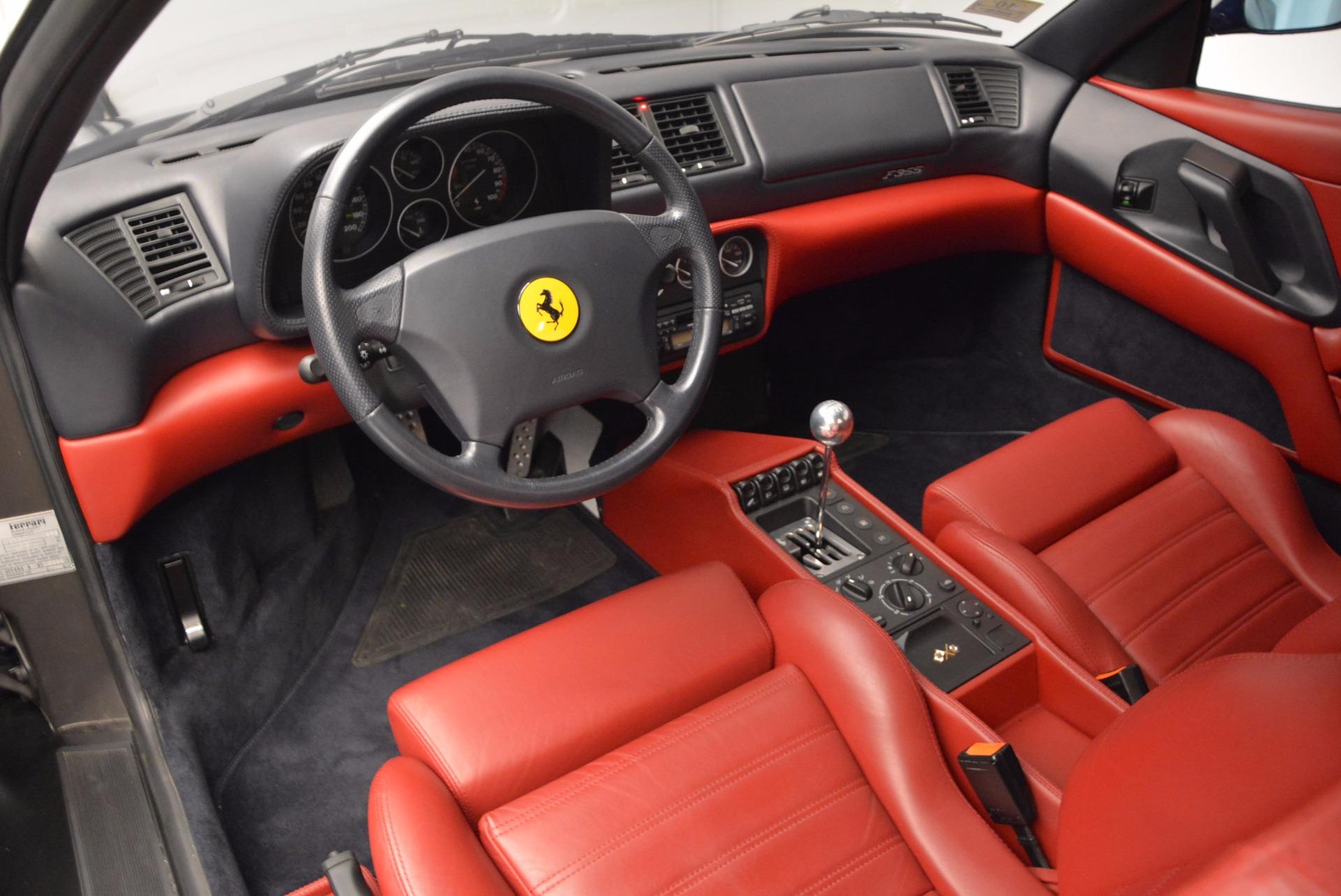 Used 1999 Ferrari 355 Berlinetta For Sale In Greenwich, CT 855_p14