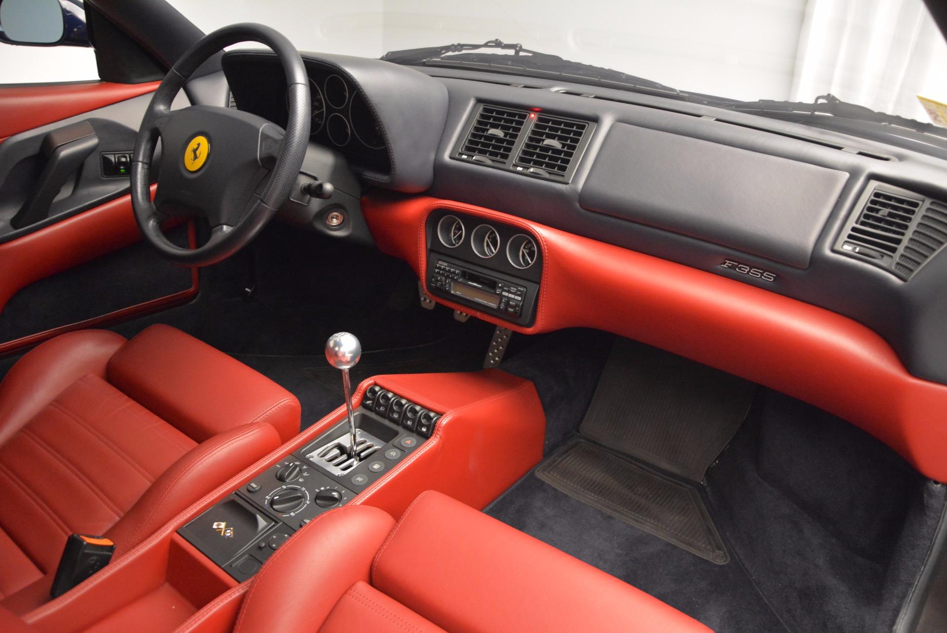 Used 1999 Ferrari 355 Berlinetta For Sale In Greenwich, CT 855_p18