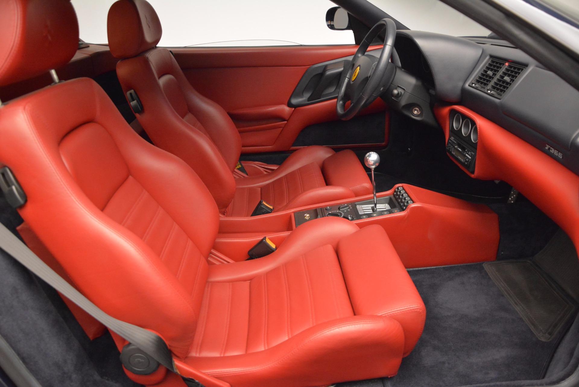 Used 1999 Ferrari 355 Berlinetta For Sale In Greenwich, CT 855_p19