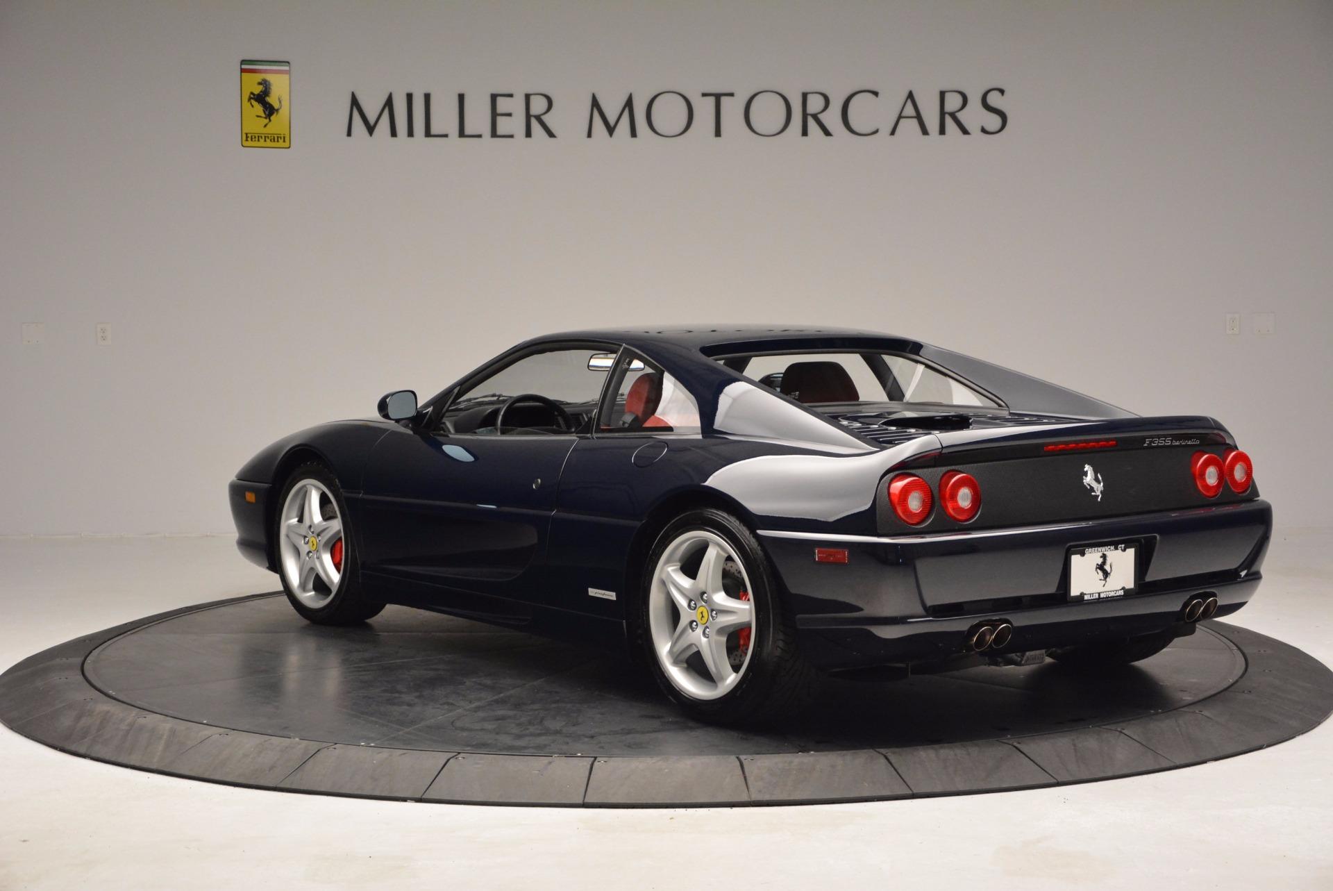 Used 1999 Ferrari 355 Berlinetta For Sale In Greenwich, CT 855_p6