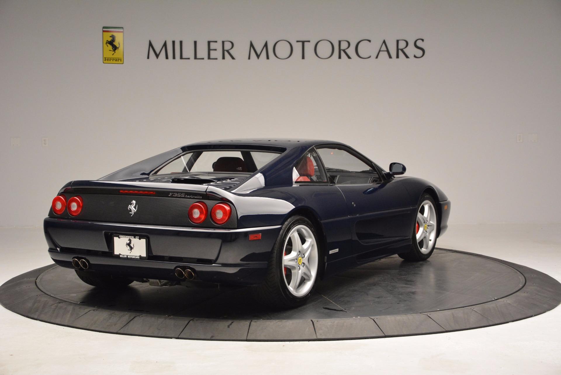 Used 1999 Ferrari 355 Berlinetta For Sale In Greenwich, CT 855_p8
