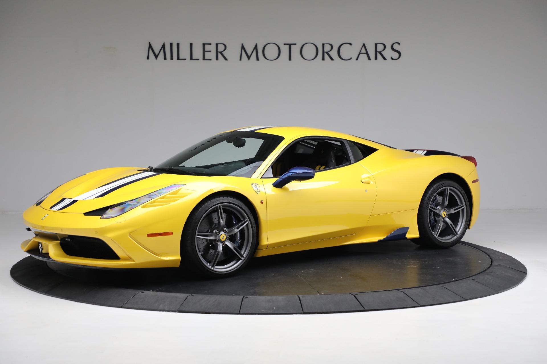 Used 2015 Ferrari 458 Speciale  For Sale In Greenwich, CT 857_p2