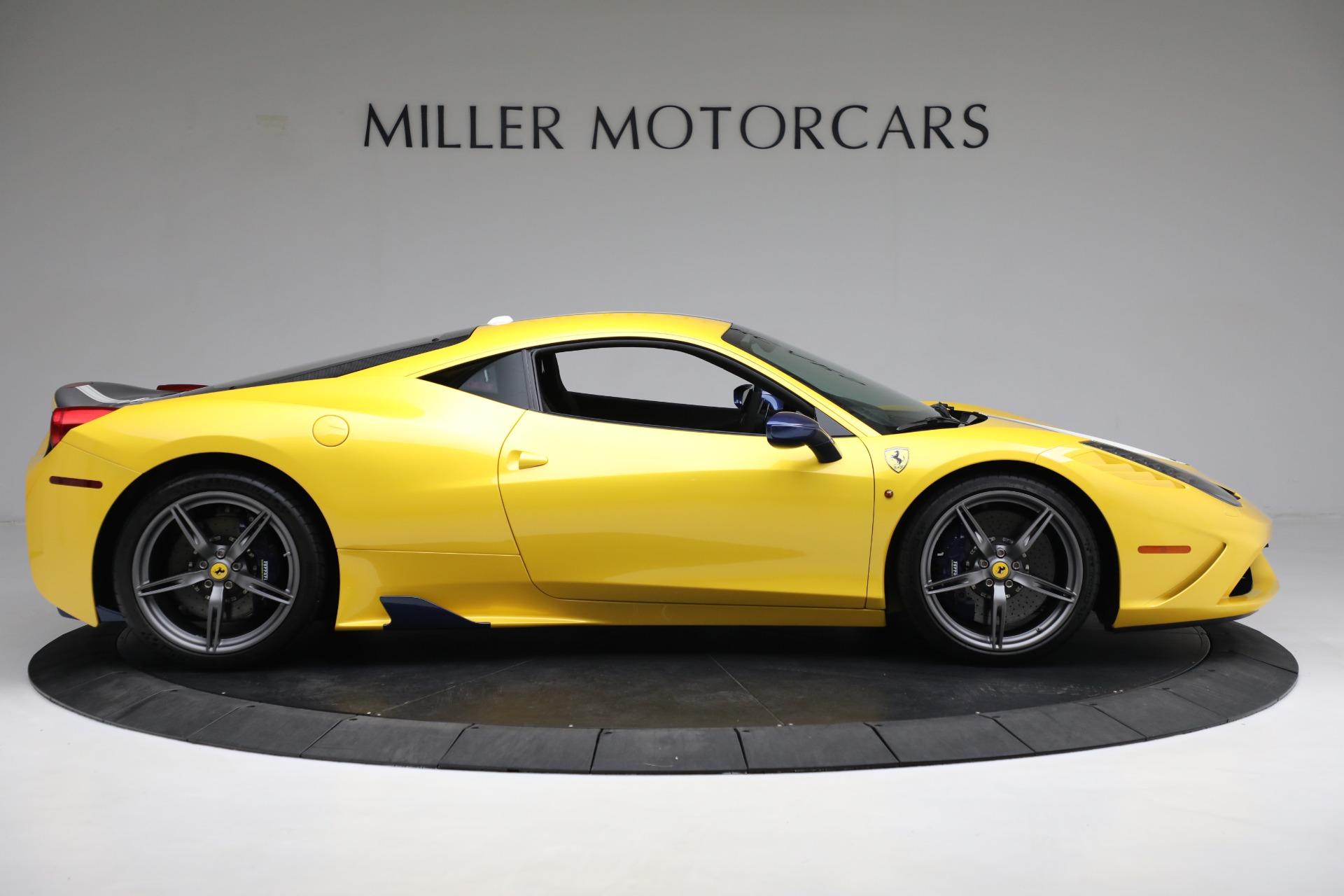 Used 2015 Ferrari 458 Speciale  For Sale In Greenwich, CT 857_p9