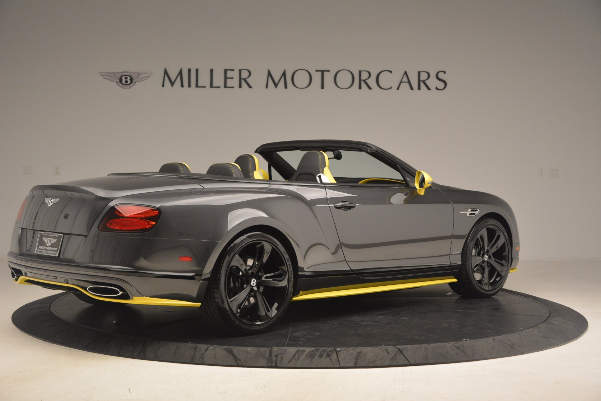 New 2017 Bentley Continental GT Speed Black Edition For Sale In Greenwich, CT 862_p8