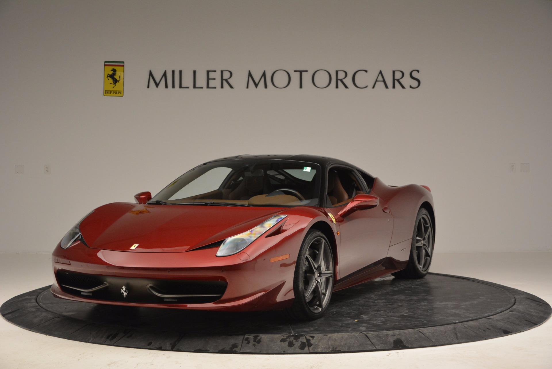 Used 2011 Ferrari 458 Italia  For Sale In Greenwich, CT 899_main