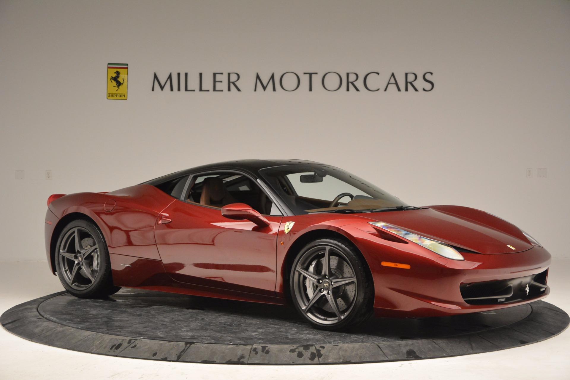 Used 2011 Ferrari 458 Italia  For Sale In Greenwich, CT 899_p10