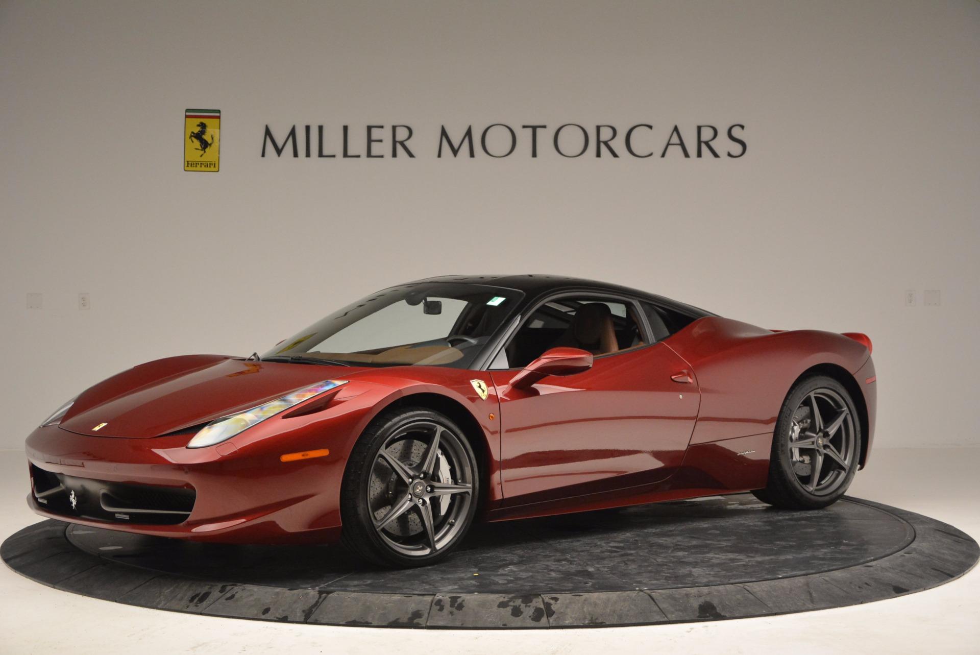 Used 2011 Ferrari 458 Italia  For Sale In Greenwich, CT 899_p2