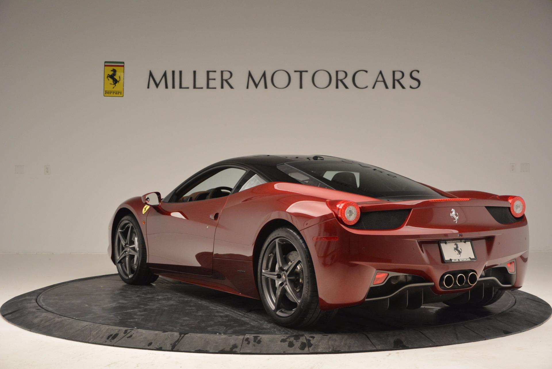 Used 2011 Ferrari 458 Italia  For Sale In Greenwich, CT 899_p5