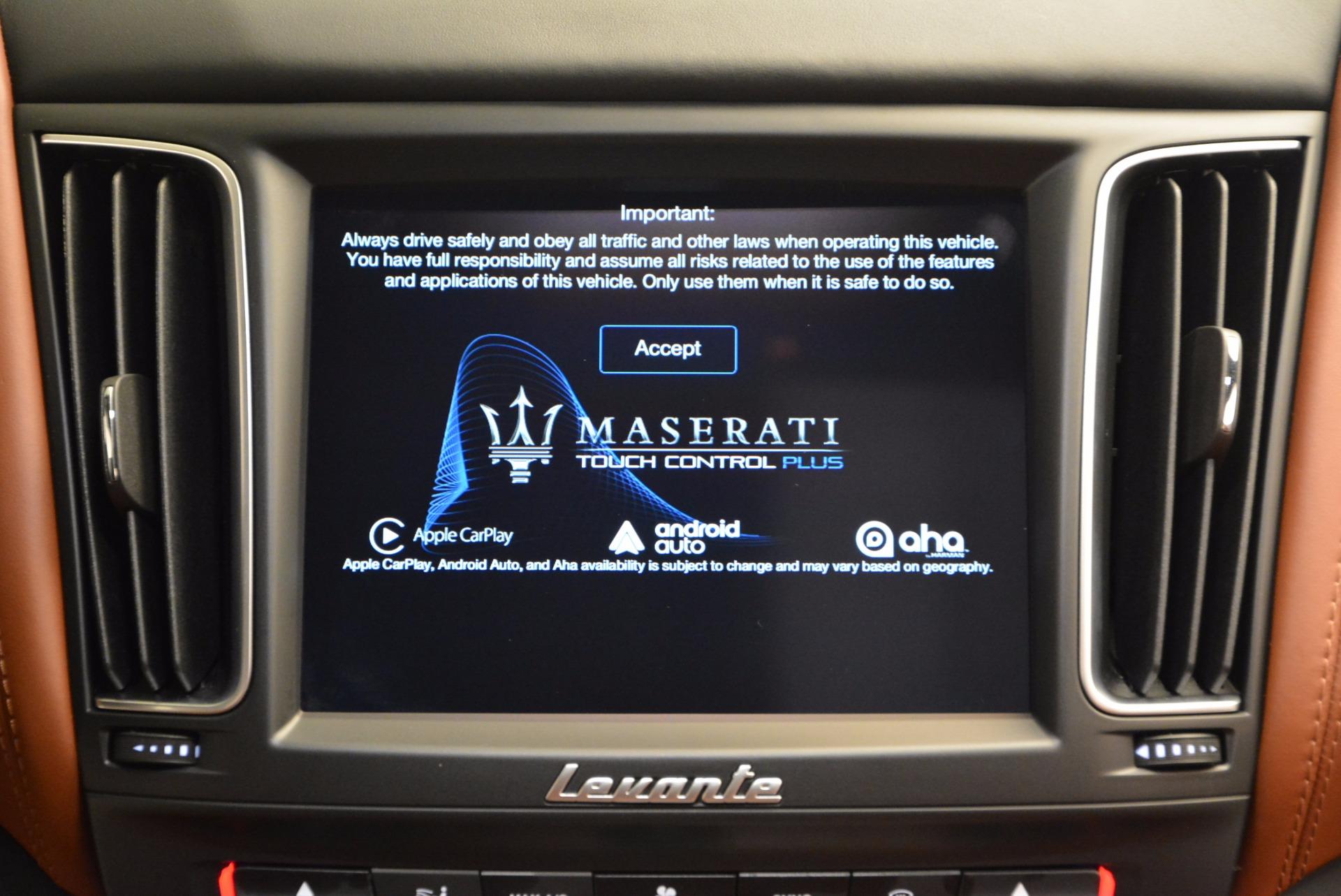 New 2017 Maserati Levante  For Sale In Greenwich, CT 915_p26