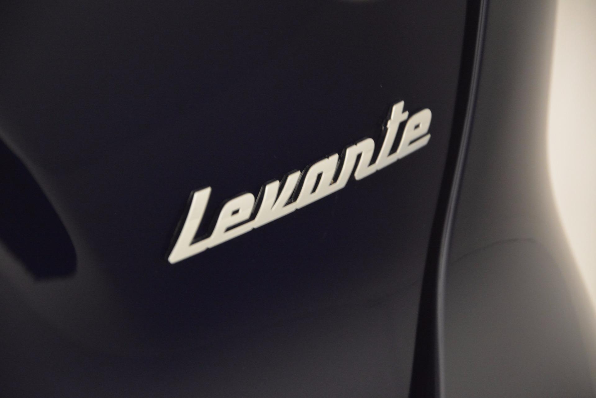 New 2017 Maserati Levante  For Sale In Greenwich, CT 915_p37