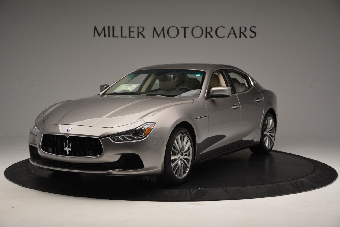 New 2017 Maserati Ghibli S Q4 For Sale In Greenwich, CT 933_main
