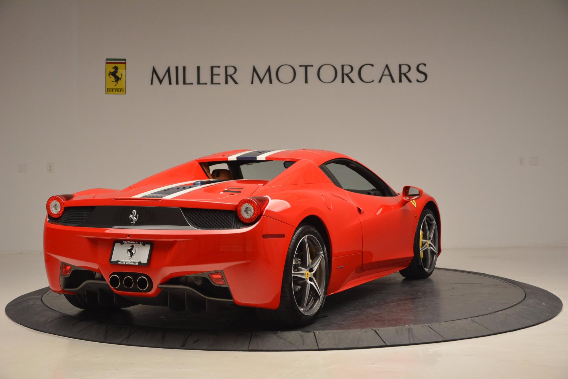 Used 2014 Ferrari 458 Spider  For Sale In Greenwich, CT 952_p19