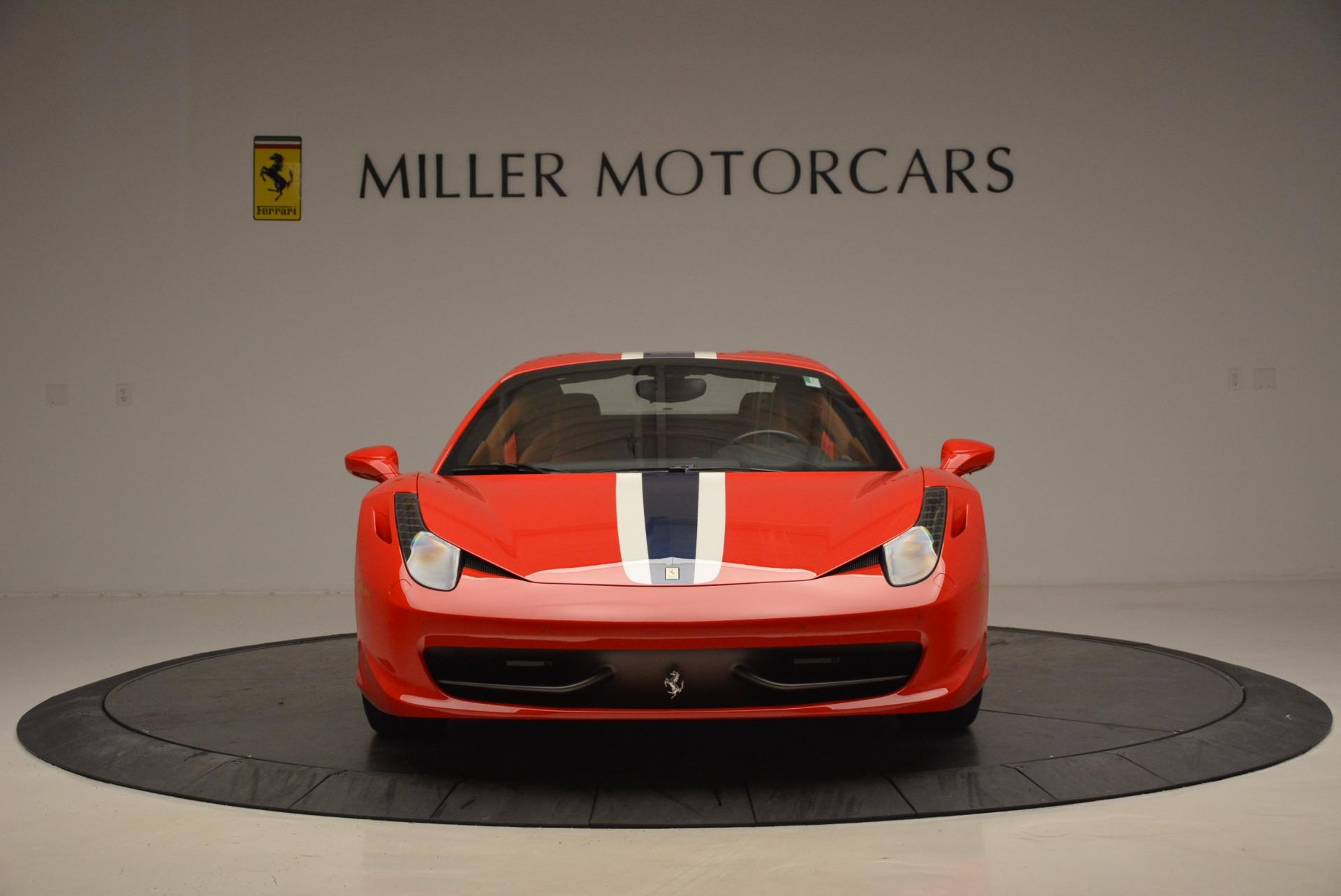 Used 2014 Ferrari 458 Spider  For Sale In Greenwich, CT 952_p24