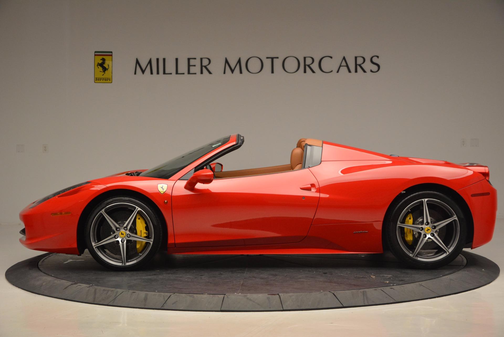 Used 2014 Ferrari 458 Spider  For Sale In Greenwich, CT 952_p3