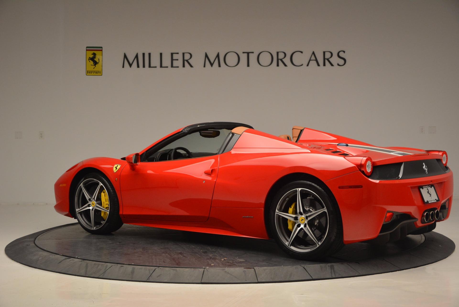 Used 2014 Ferrari 458 Spider  For Sale In Greenwich, CT 952_p4