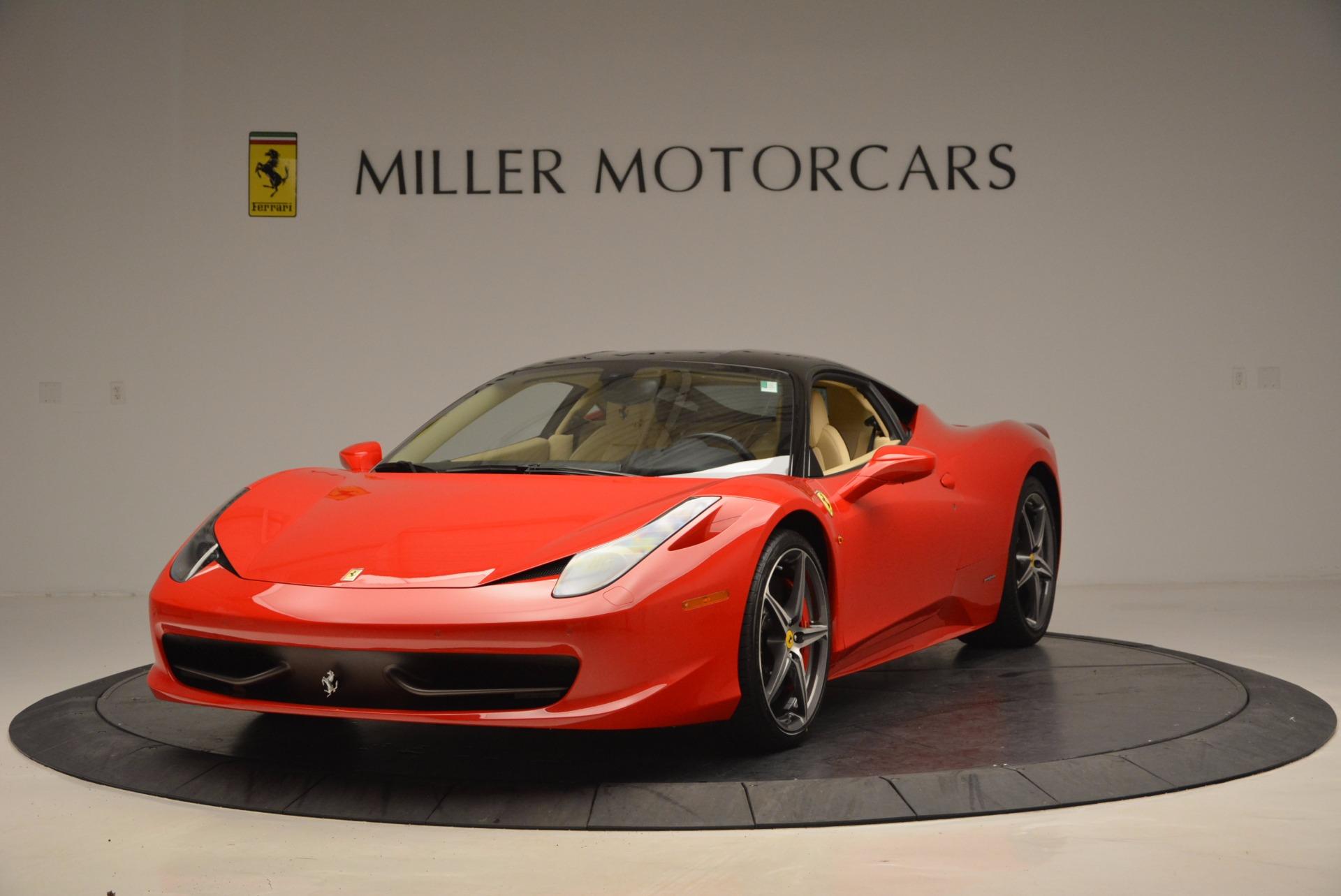 Used 2011 Ferrari 458 Italia  For Sale In Greenwich, CT 953_main