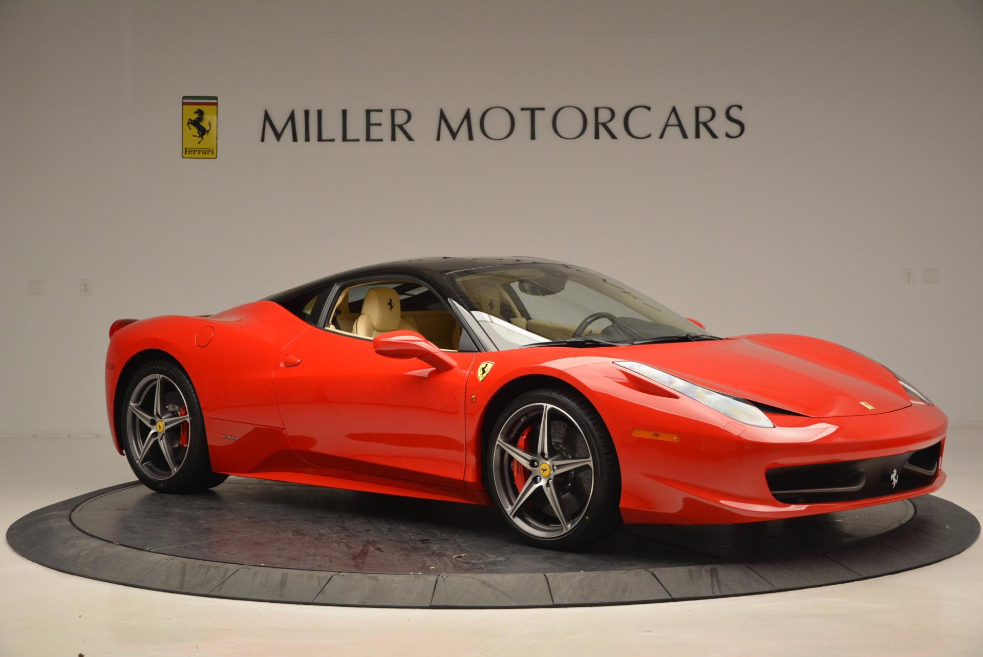 Used 2011 Ferrari 458 Italia  For Sale In Greenwich, CT 953_p10