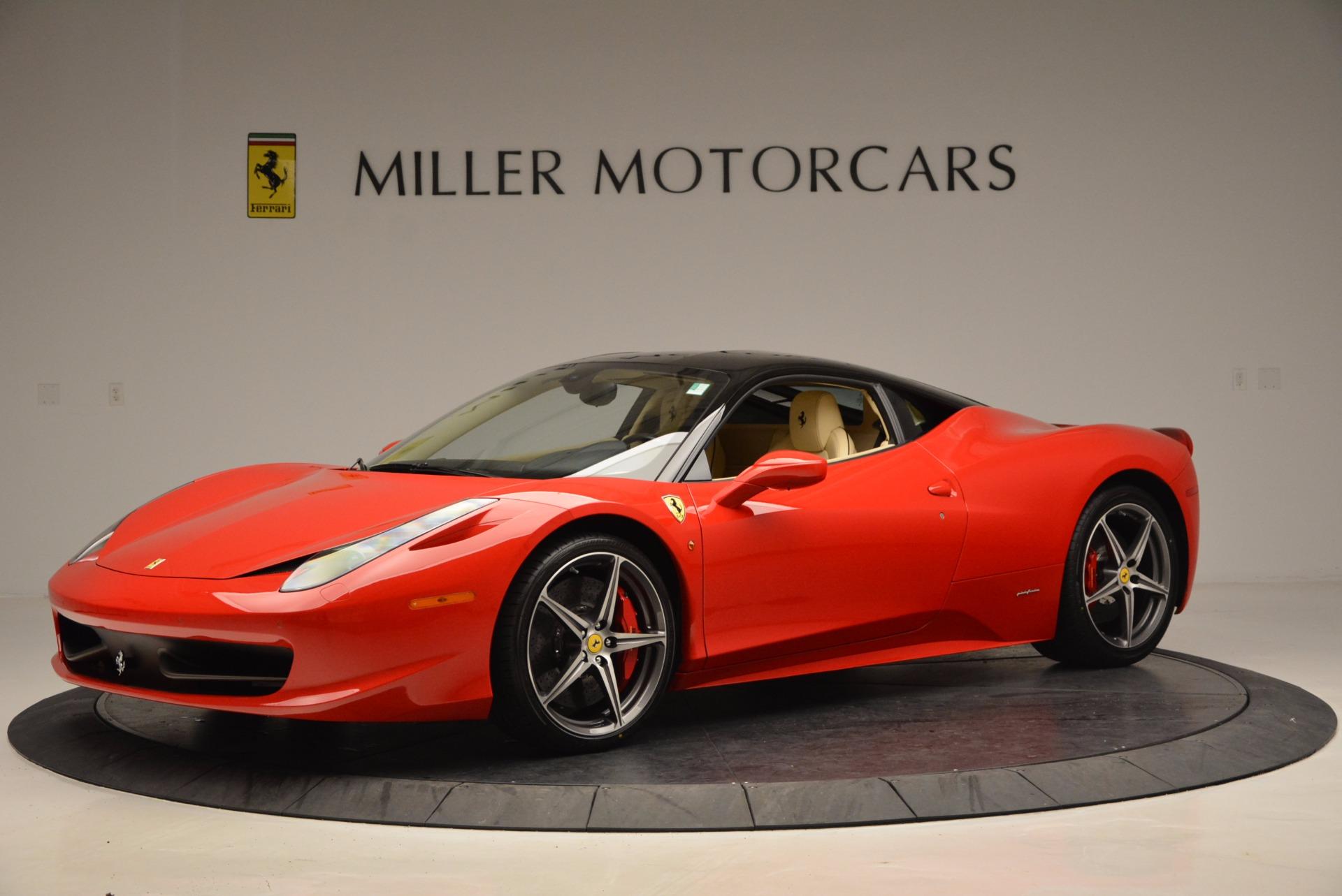 Used 2011 Ferrari 458 Italia  For Sale In Greenwich, CT 953_p2
