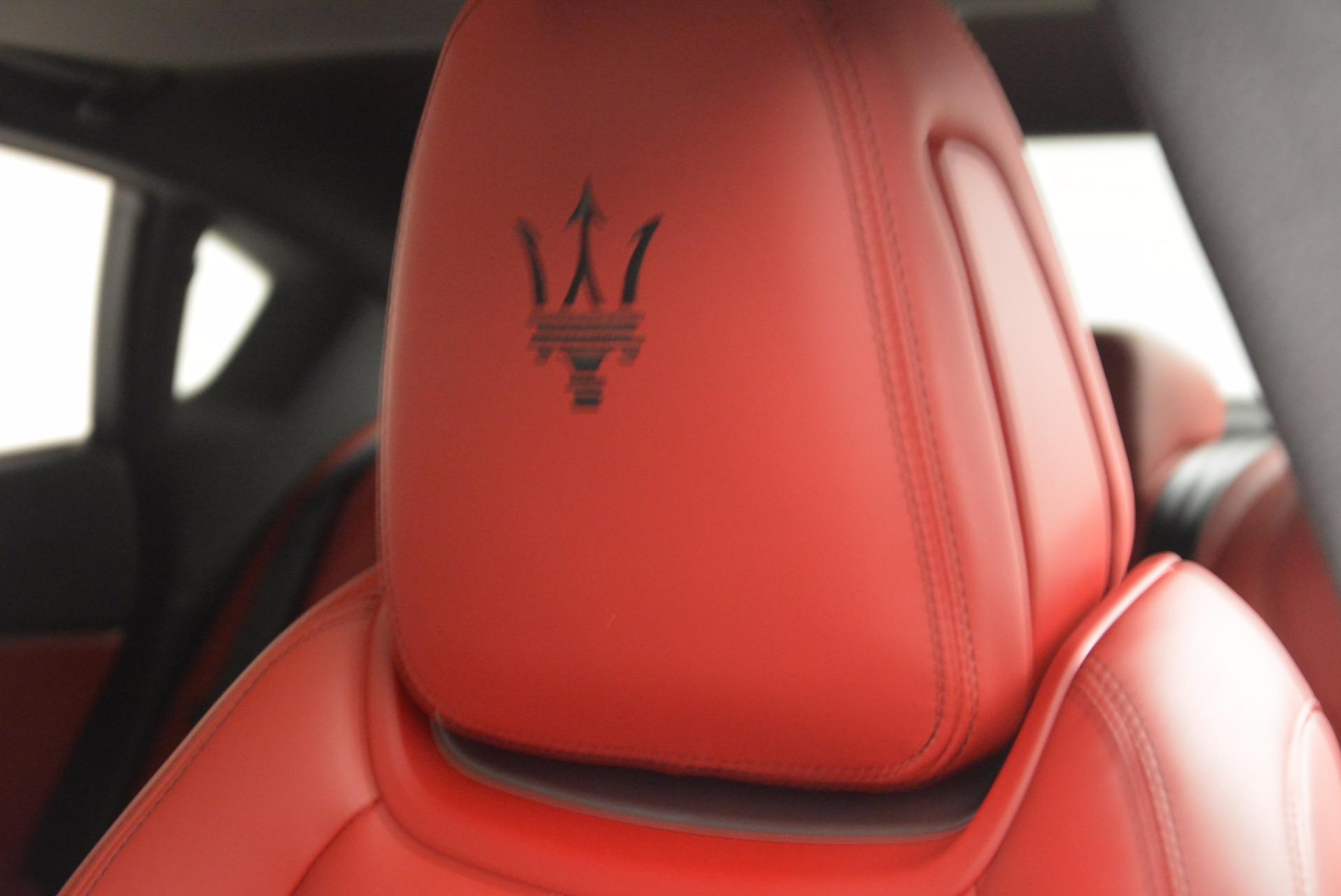 New 2017 Maserati Quattroporte S Q4 GranSport For Sale In Greenwich, CT 960_p16