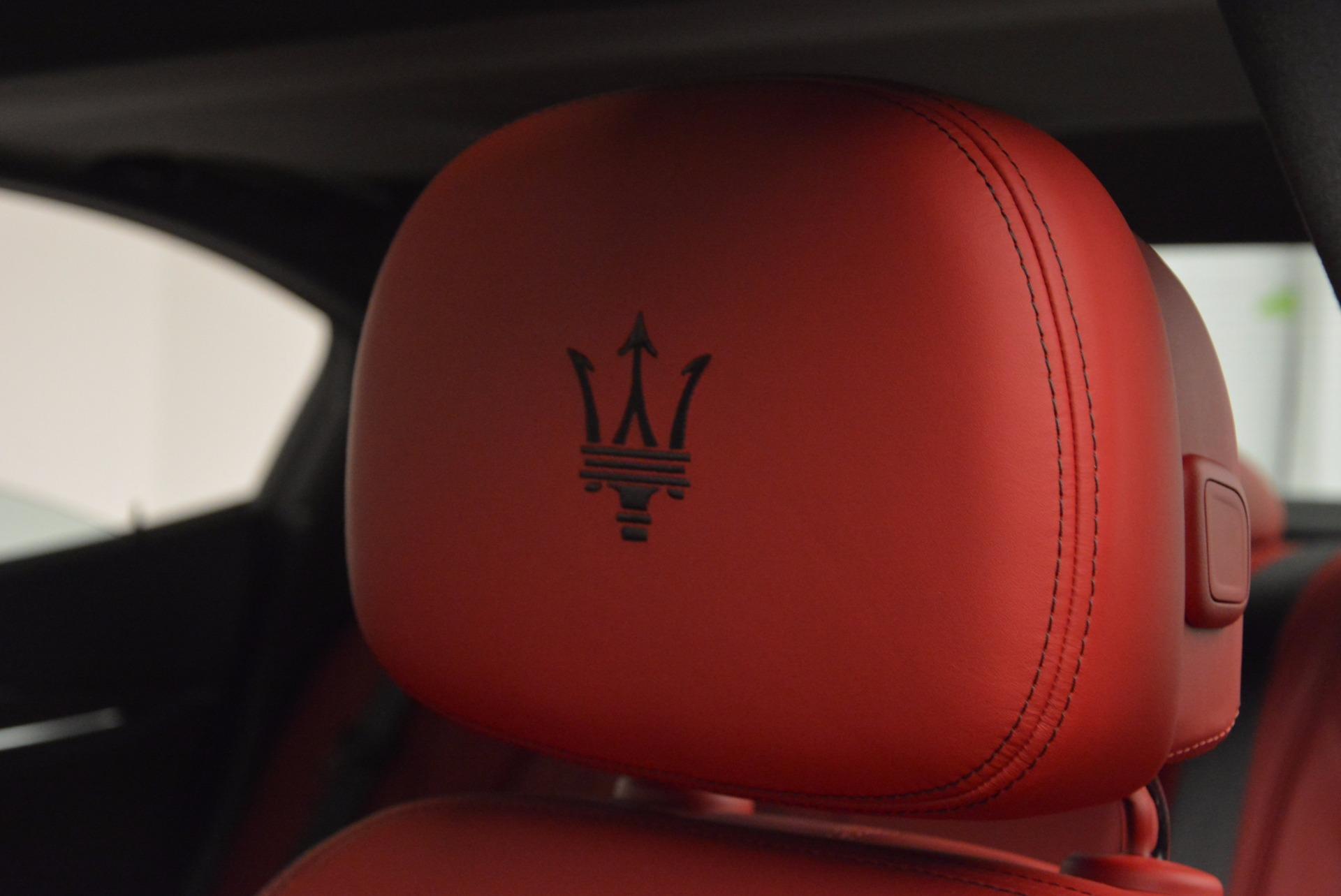 New 2017 Maserati Ghibli S Q4 For Sale In Greenwich, CT 961_p16