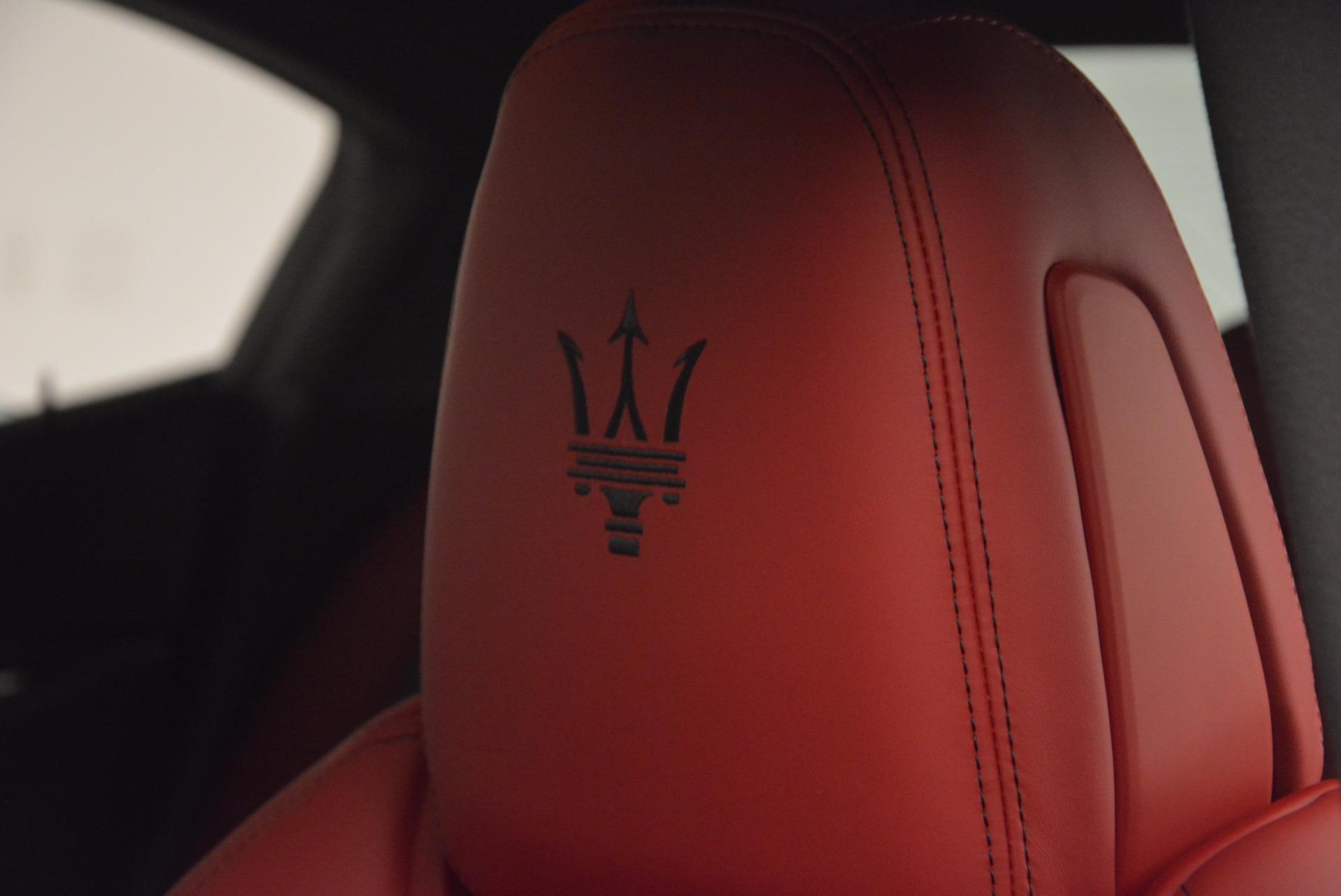 New 2017 Maserati Ghibli SQ4 For Sale In Greenwich, CT 962_p21