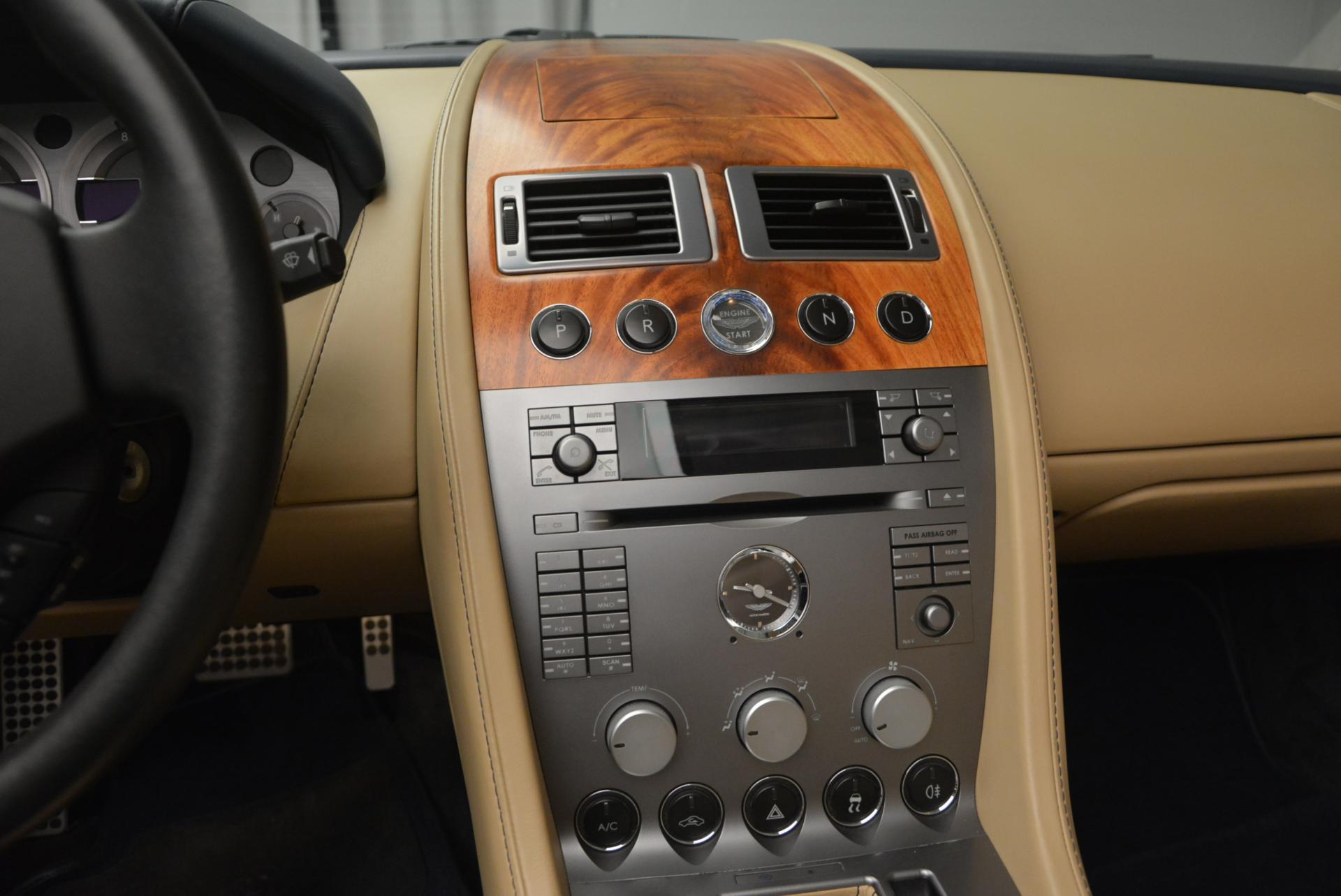 Used 2007 Aston Martin DB9 Volante For Sale In Greenwich, CT 97_p28