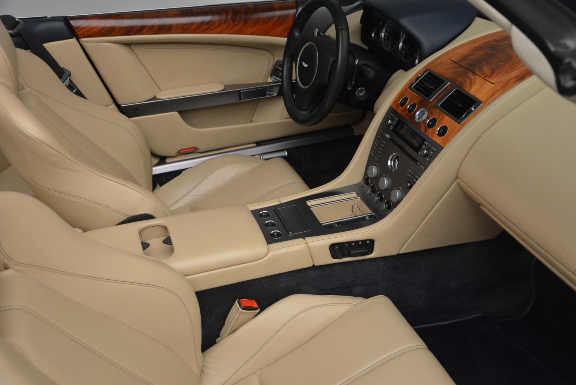 Used 2007 Aston Martin DB9 Volante For Sale In Greenwich, CT 97_p31