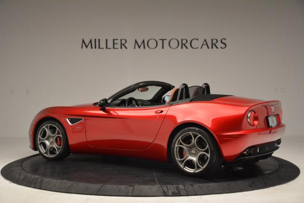 Used 2009 Alfa Romeo 8C Competizione Spider for sale $353,900 at Bentley Greenwich in Greenwich CT 06830 4