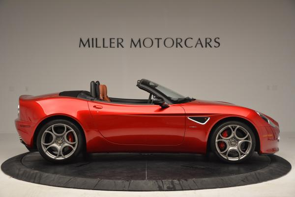 Used 2009 Alfa Romeo 8C Competizione Spider for sale $353,900 at Bentley Greenwich in Greenwich CT 06830 9