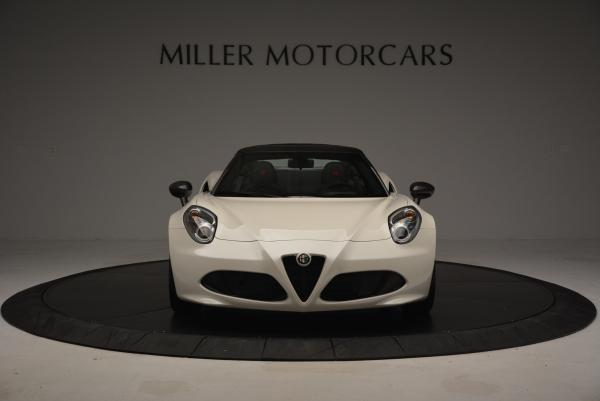 New 2015 Alfa Romeo 4C Spider for sale Sold at Bentley Greenwich in Greenwich CT 06830 12