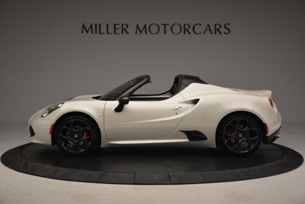 New 2015 Alfa Romeo 4C Spider for sale Sold at Bentley Greenwich in Greenwich CT 06830 3