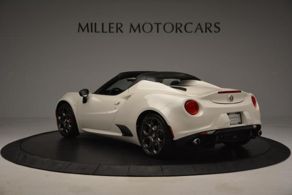 New 2015 Alfa Romeo 4C Spider for sale Sold at Bentley Greenwich in Greenwich CT 06830 5