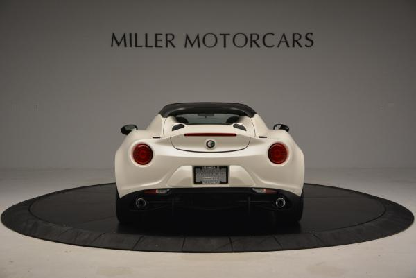 New 2015 Alfa Romeo 4C Spider for sale Sold at Bentley Greenwich in Greenwich CT 06830 6