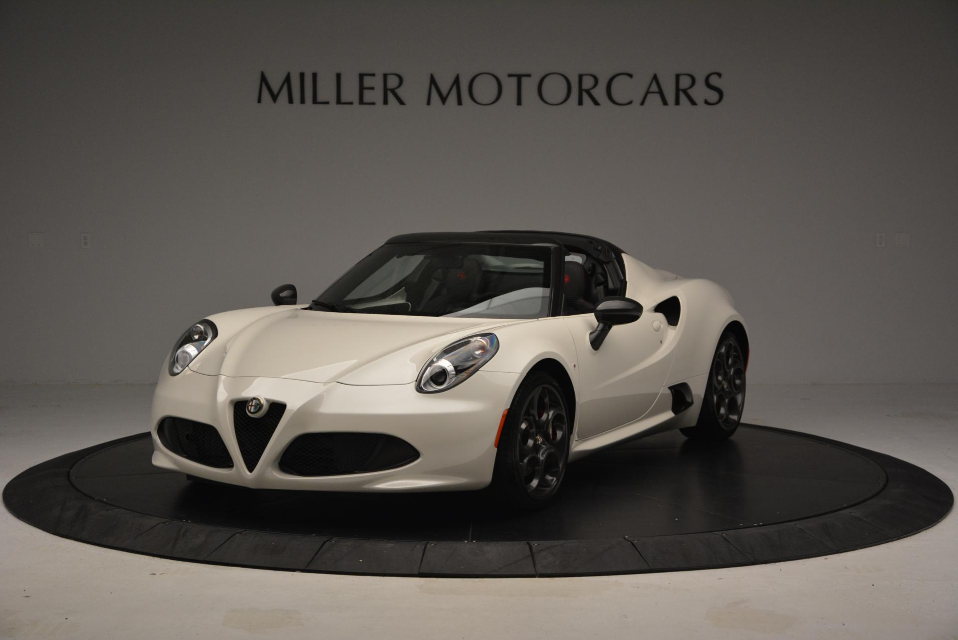 New 2015 Alfa Romeo 4C Spider for sale Sold at Bentley Greenwich in Greenwich CT 06830 1