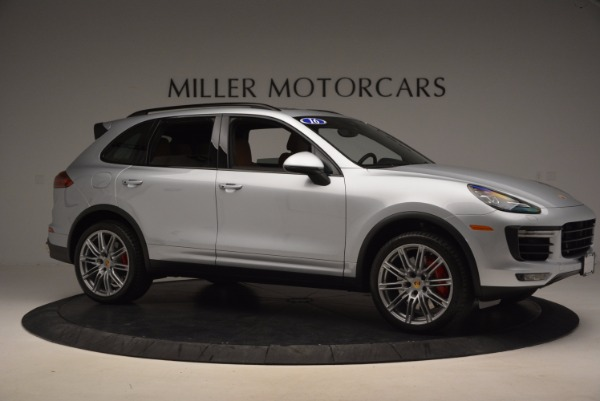 Used 2016 Porsche Cayenne Turbo for sale Sold at Bentley Greenwich in Greenwich CT 06830 10