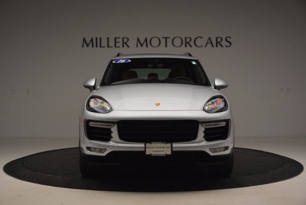 Used 2016 Porsche Cayenne Turbo for sale Sold at Bentley Greenwich in Greenwich CT 06830 12