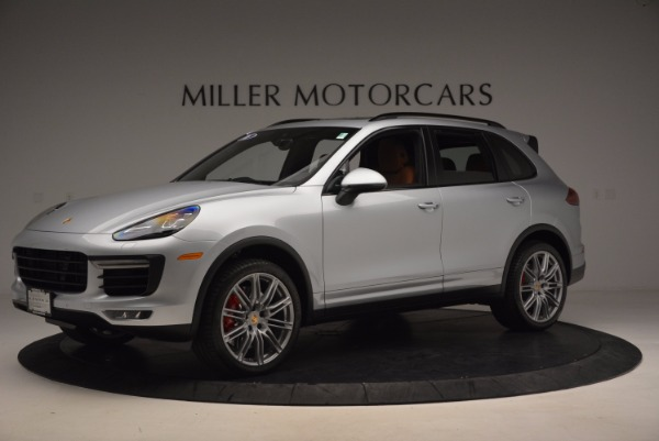 Used 2016 Porsche Cayenne Turbo for sale Sold at Bentley Greenwich in Greenwich CT 06830 2
