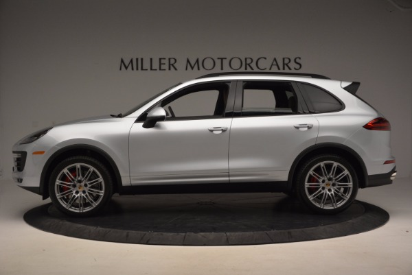 Used 2016 Porsche Cayenne Turbo for sale Sold at Bentley Greenwich in Greenwich CT 06830 3