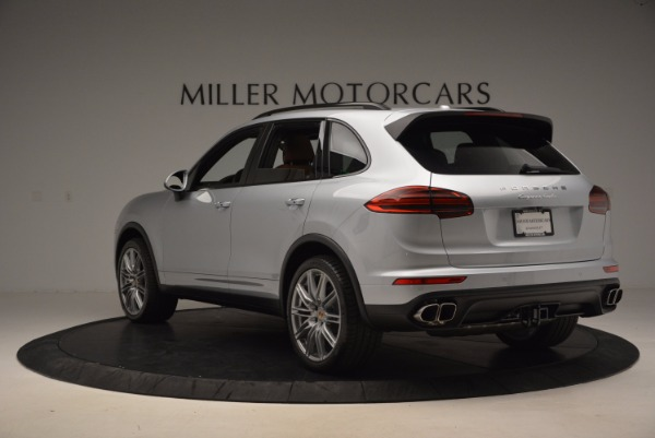 Used 2016 Porsche Cayenne Turbo for sale Sold at Bentley Greenwich in Greenwich CT 06830 5