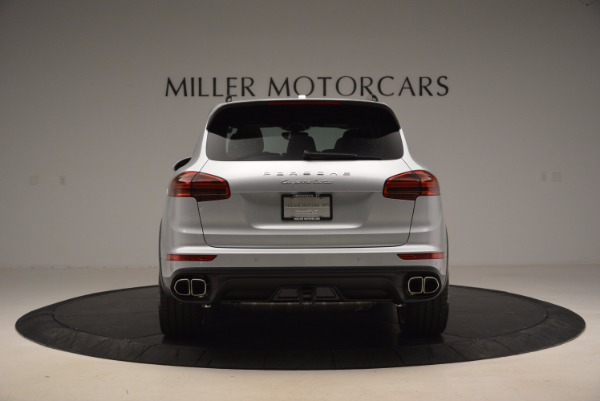 Used 2016 Porsche Cayenne Turbo for sale Sold at Bentley Greenwich in Greenwich CT 06830 6