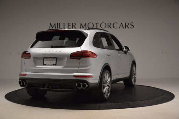 Used 2016 Porsche Cayenne Turbo for sale Sold at Bentley Greenwich in Greenwich CT 06830 7