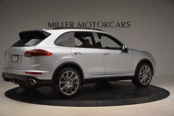 Used 2016 Porsche Cayenne Turbo for sale Sold at Bentley Greenwich in Greenwich CT 06830 8